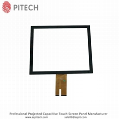 Transparent Capacitive Touch Screen Kits 10.1 Inches