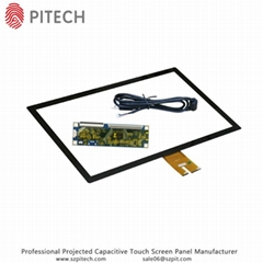 USB Interface 21.5 Inches Capacitive Touch Screen Overlay Kit
