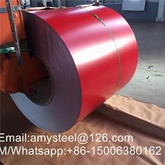 RAL9002 White Prepainted Galvanized Steel Coil Z275