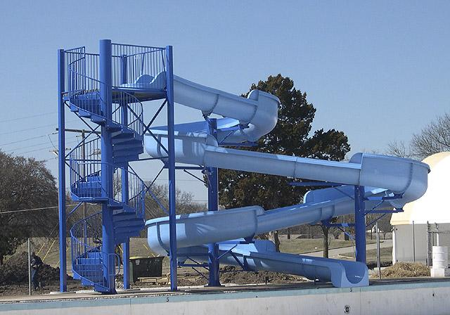 swimming pool water games water park slides 5