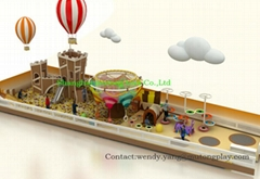 High Quality Customized Theme Indoor Playground Indoor Soft Play