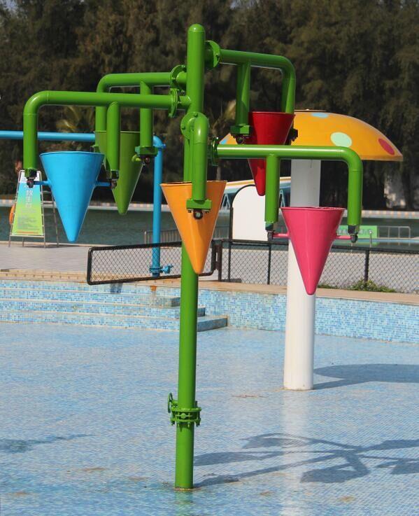 Aqua Park Equipment Children Play Water Park Dump Bucket for Pool 1