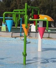 Aqua Park Equipment Children Play Water Park Dump Bucket for Pool