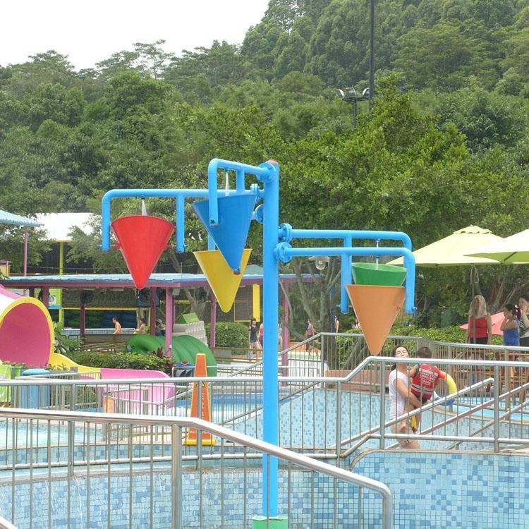 Aqua Park Equipment Children Play Water Park Dump Bucket for Pool 2