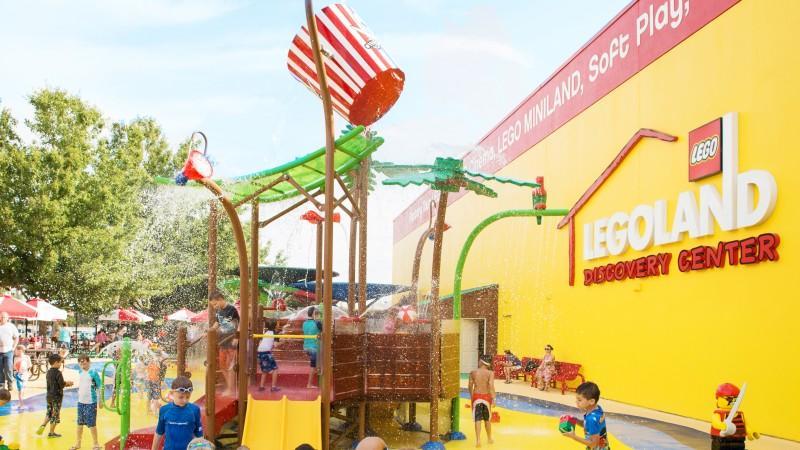Aqua Park Equipment Children Play Water Park Dump Bucket for Pool 3