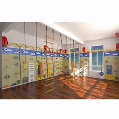 Indoor Playground Climbing Wall