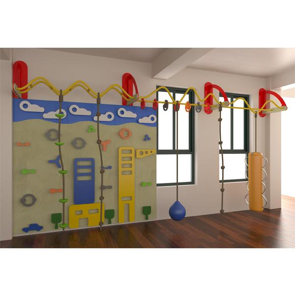 Indoor Playground Climbing Wall Structure for Kids 5