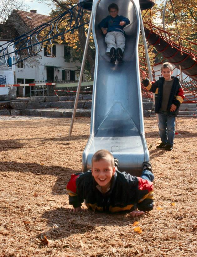 Outdoor 304 Stainless steel slide for children Stainless steel slide in China fo 2