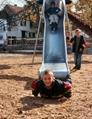 牧童定做不鏽鋼造型滑梯非標定製滑梯S型旋轉滑梯 2