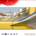 Mutong outdoor playground stainless steel tube slides playhouse 4
