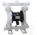 QBY pneumatic operated double diaphragm pumps