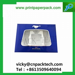 Customized Luxury Fullset PVC Window Packaging Jewelry Box Gift Electrionic Prod