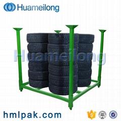 Wholesale warehouse metal mobile zinc tire pallet rack storage system for sale