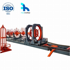 construction using rebar cage welding making machines