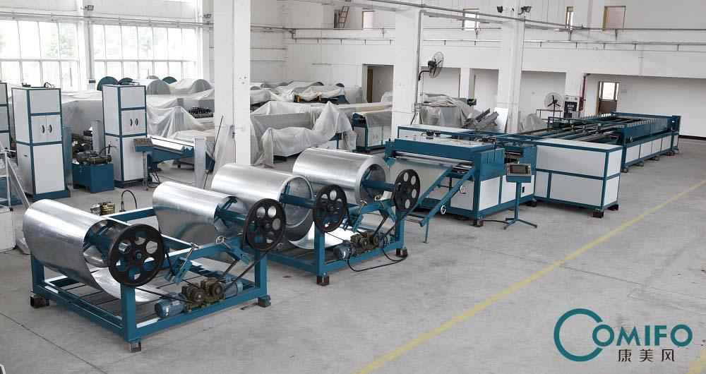 广州康美风全自动风管生产七线 2
