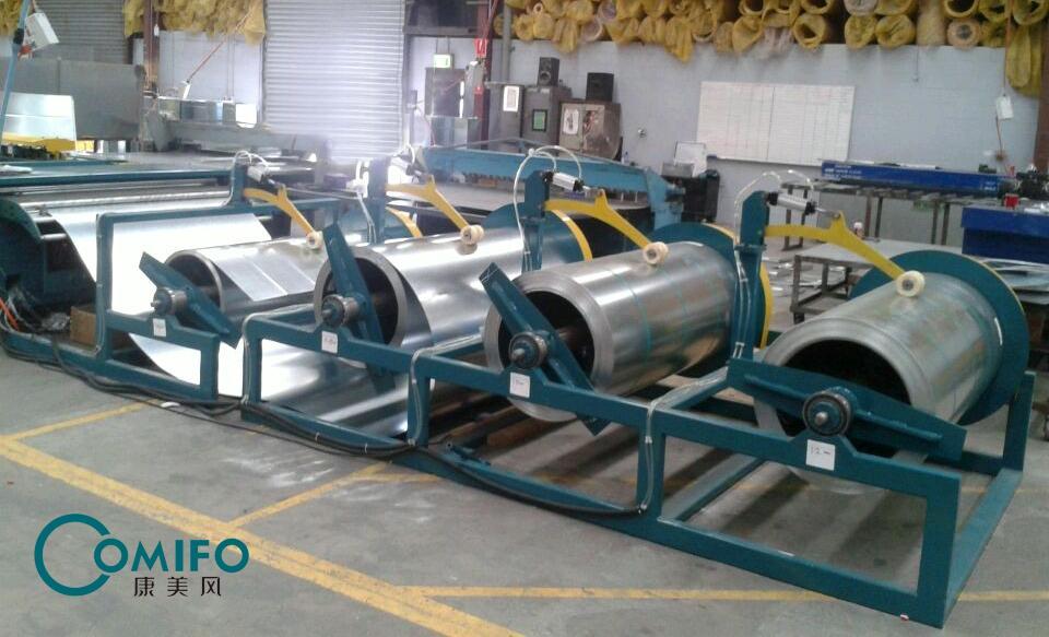 广州康美风全自动风管生产八线 3
