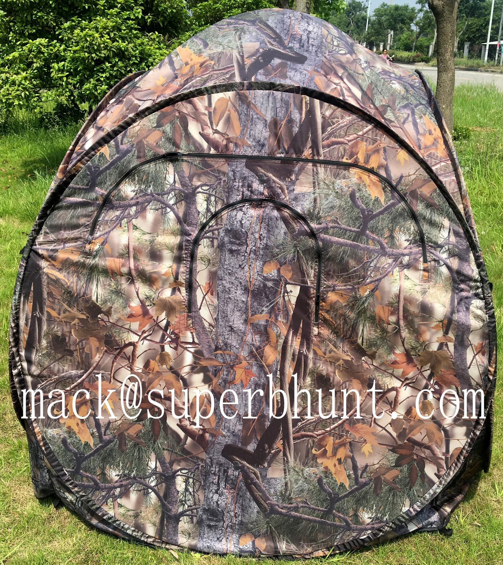 Brown Camo Printed Polyester Tricot for Hunting in Low Royalty Rate 5