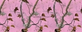 Pink Camo Printed Polyester Tricot for Hunting in Low Royalty Rate 2