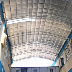 建築牆面專用鋁箔雙層氣泡隔熱保溫隔熱材料