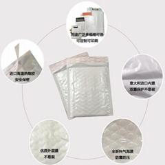 高質量奶白膜復合氣泡袋