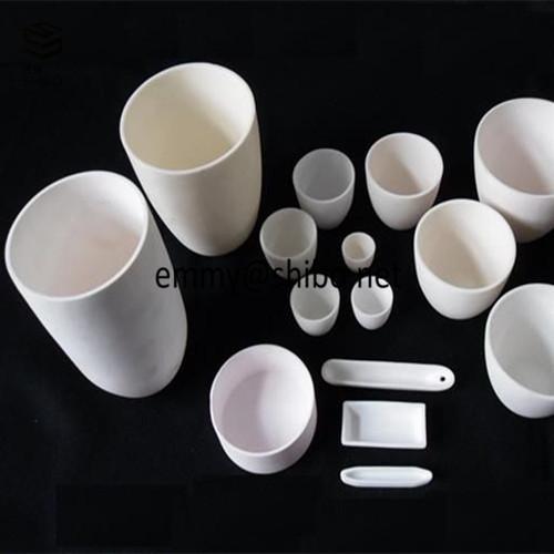 high temperature alumina ceramic crucibles 1