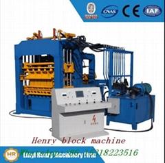 Construction machinery QT4-15 hydraulic press  concrete block machine price