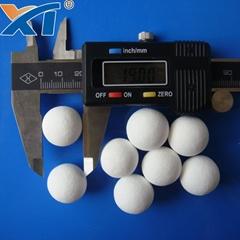 38mm Denstone99 Inert Alumina  Porcelain Ball As Filler Catalyst