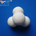 38mm Denstone99 Inert Alumina  Porcelain Ball As Filler Catalyst 2