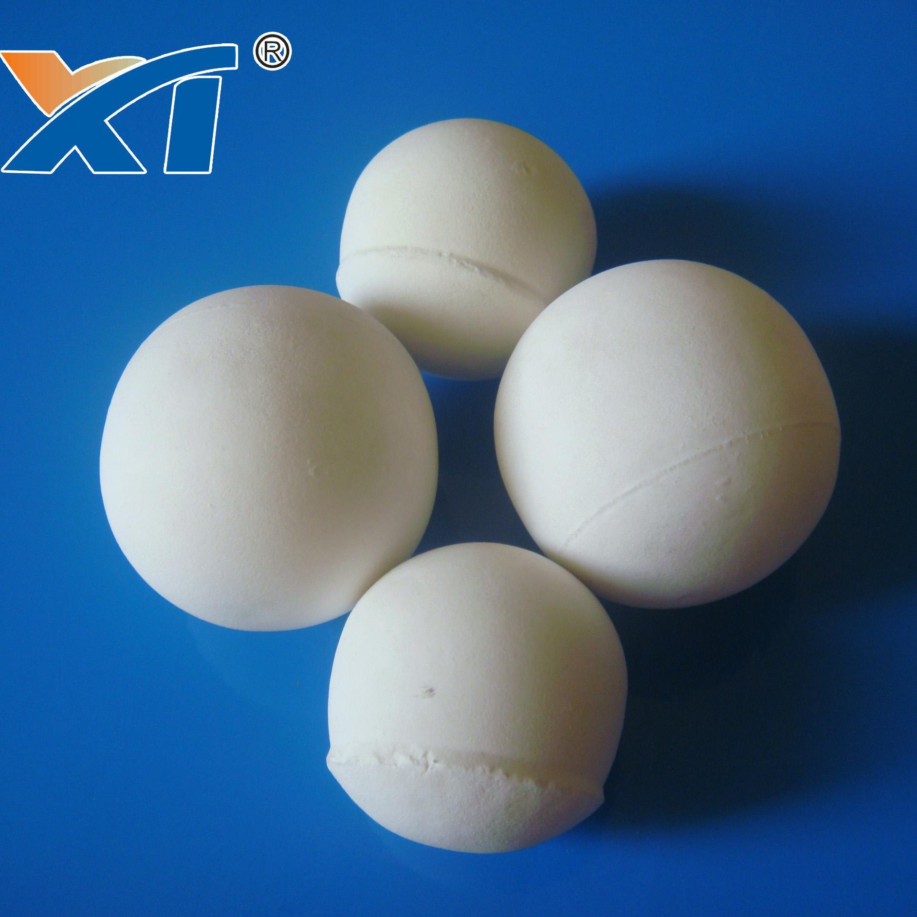 95 white high alumina ceramic grinding balls for ball mill 1