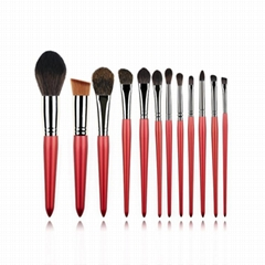 12 pcs private label makeup brushes