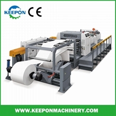 Servo Control High Speed Jumbo Paper Roll Sheet Cutter