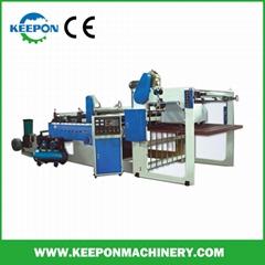 Paper Film Plastic Roll Sheeting Cutter Machine