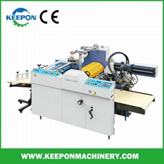 High Speed Electromagnetic Thermal Film Laminating Machine
