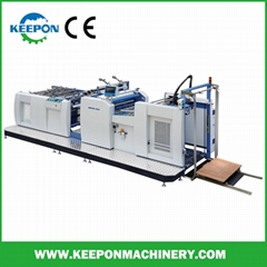 High Speed Thermal Film Laminator with Chain Knife