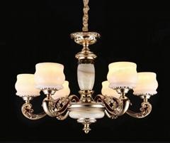棗莊鋅合金玉石燈銷售
