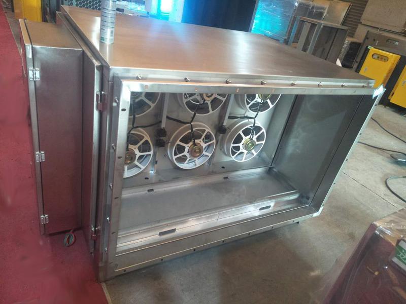 供應UV光氧催化除臭器 環保設備 油煙淨化器 活性炭吸附設備 3