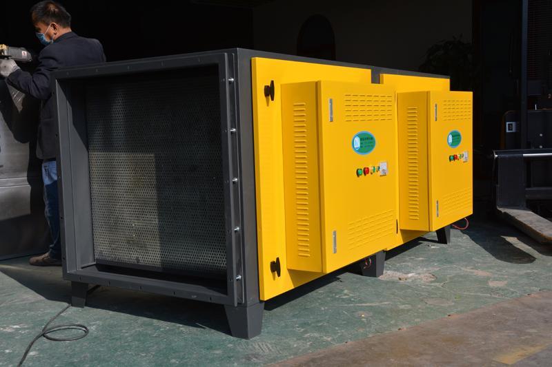 供應低空靜電式油煙淨化器  5