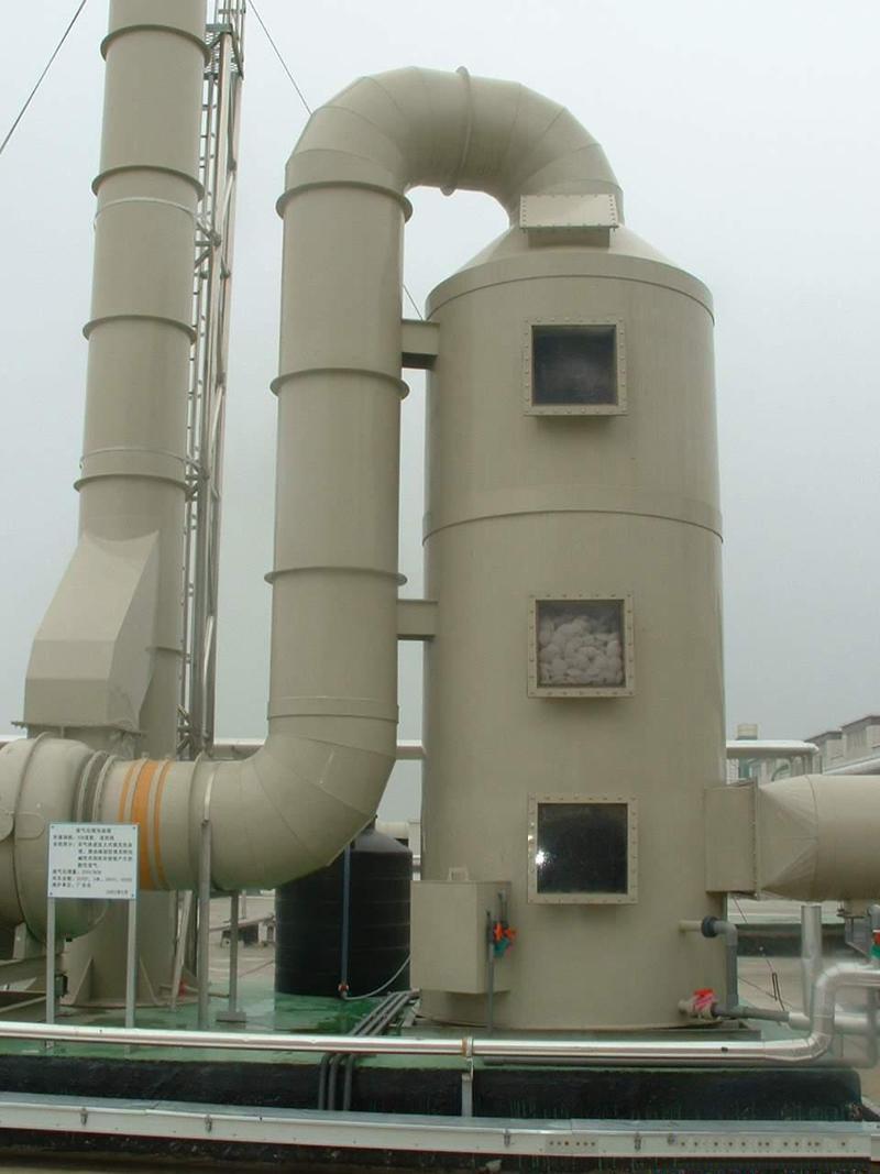 供應工業廢氣處理水噴淋塔 2