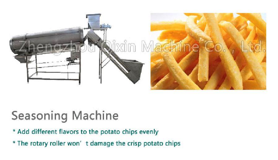 China supplier  full automatic potato chip machine of chips production  2