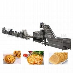 automatic aloo potato chips making machine price