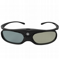 2.4GHZ RF 3D Glasses with Rechargeable Active Shutter match yantok 2.4GHZ 3D SYN