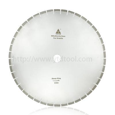 600-800mm high frequency welding diamond saw blade Cutting Granite Block 1