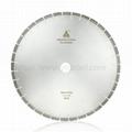 600-800mm high frequency welding diamond saw blade Cutting Granite Block 2
