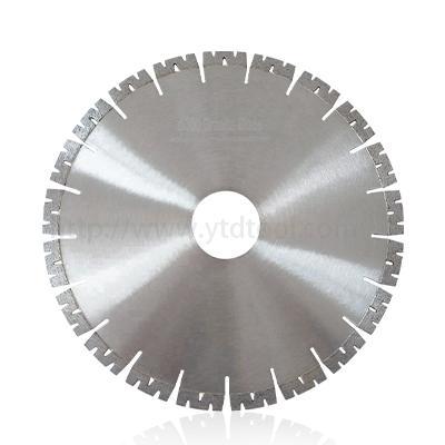 350mm W shape segment diamond saw blade for fast cutting granite stone 1