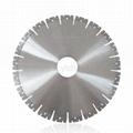 350mm W shape segment diamond saw blade