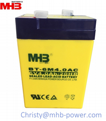 MHB Power 6V4Ah lead acid battery for ups/back up power