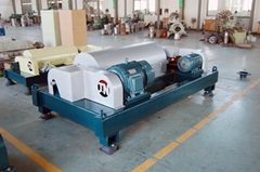 Decanter Centrifuge for River Sludge River Dredging and Cleaning