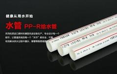 聖大管業供應PP-R冷熱水管合肥市自來水管