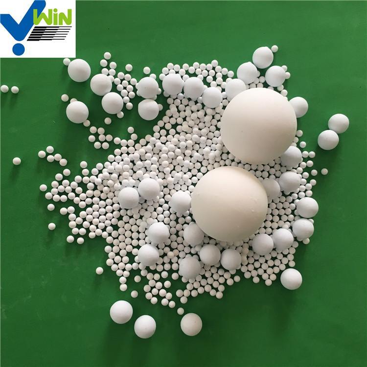 92% 95%AL2O3 alumina ceramic ball chinese supplier 4