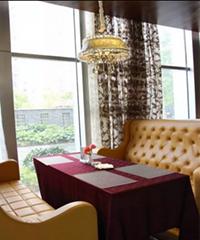 咖啡廳洽談桌椅組合現代簡約休閑